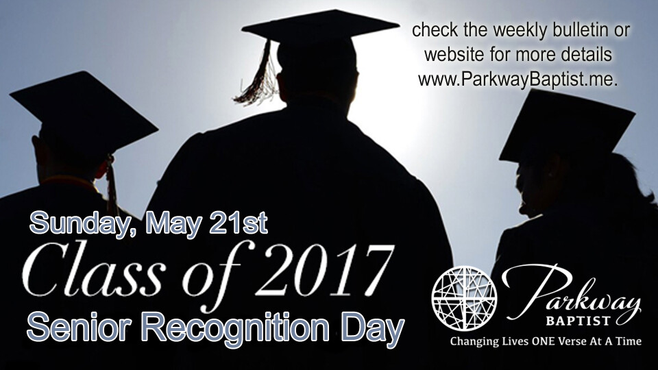 High School Senior Recognition Day