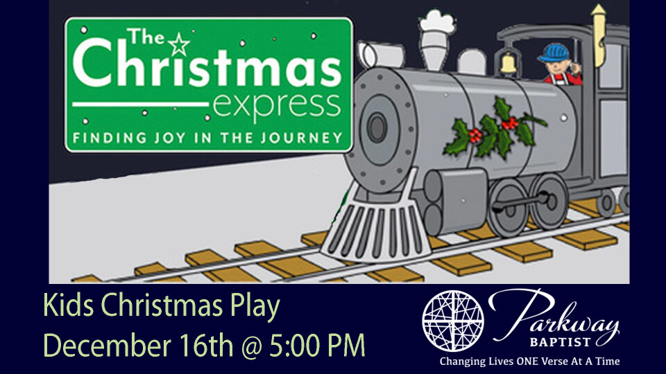 Kids Christmas Play: Christmas Express