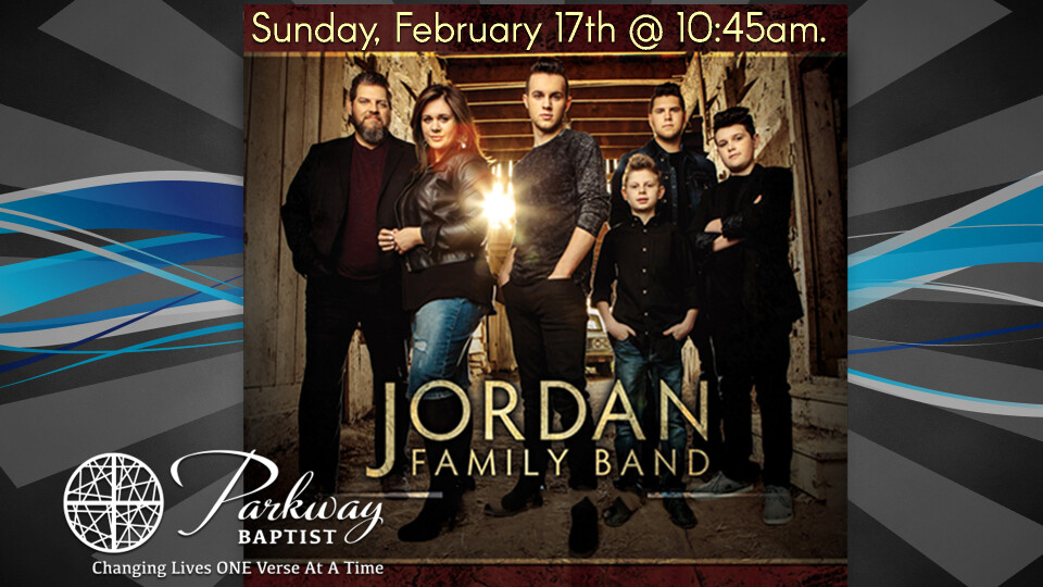 Love of God Sunday with the Jordan Family Band