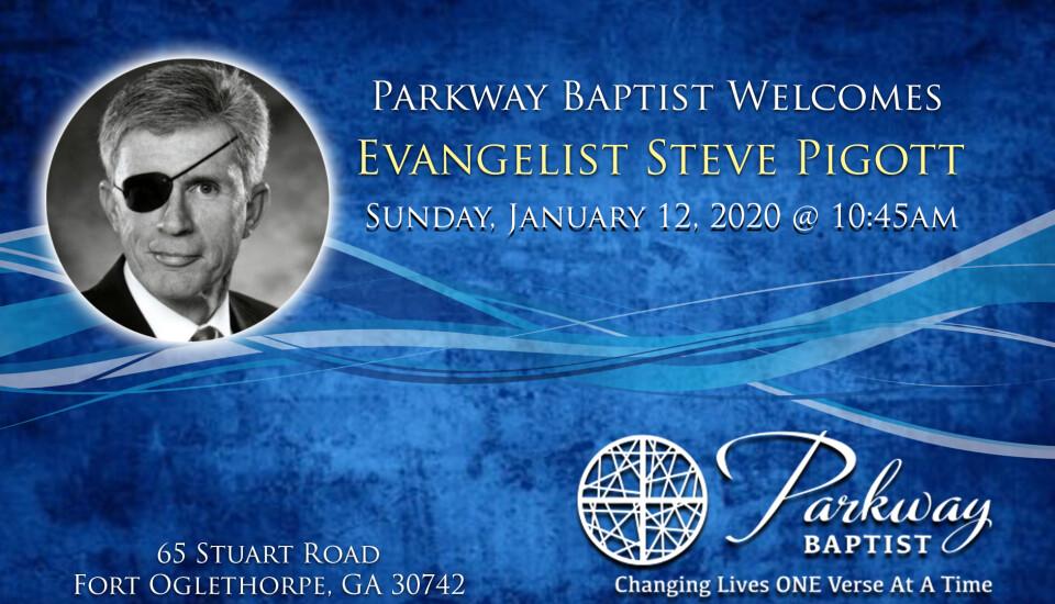 Evangelist Steve Pigott
