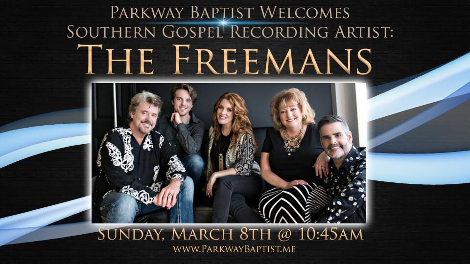 The Freemans in Concert