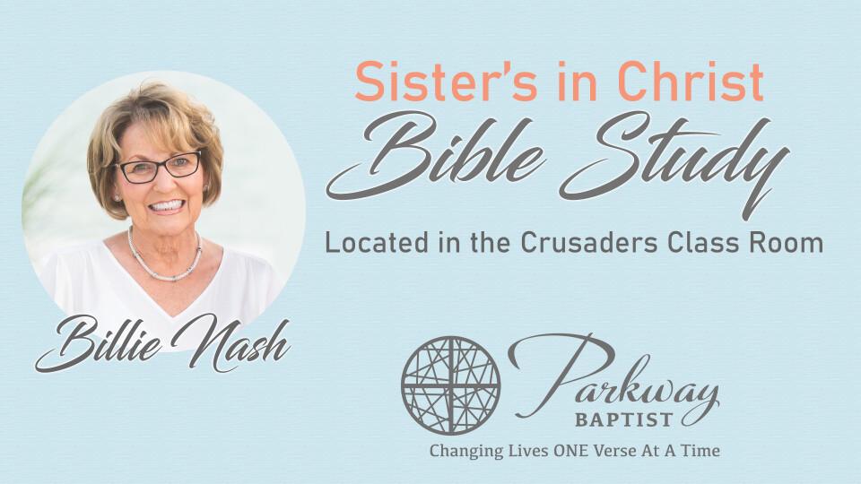 Ladies Bible Study 10:00am